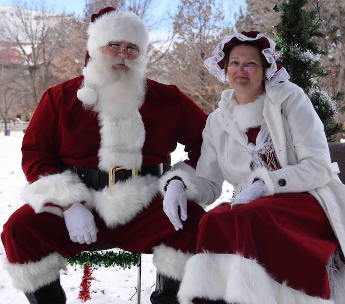 Santa Jim and his wonderful Mrs